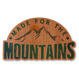 WOODSTICKER(ウッドステッカー) WOOD STICKER OUTDOOR ウッドステッカー アウトドア MOUNTAINS IB-DS-WDS-4970
