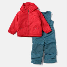 Columbia(コロンビア) Double Flake Set(ダブル フレーク セット キッズ) kid's XXS 615(Mountain Red) SY1093
