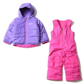 Columbia(コロンビア) DOUBLE FLAKE SET(ダブル フレーク セット) kid's XS 695(Pink Ice×Grape Gum) SY1093