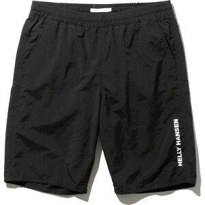 HELLY HANSEN(ヘリーハンセン) Men's Solid Water Shorts(ソリッド ウォーター ショーツ)メンズ L K(ブラック) HH72026
