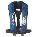 ダイワ(Daiwa) DF-2007 ウォッシャブルライフジャケット(肩掛けタイプ手動・自動膨脹式) フリー ブルーヘクス 08370185