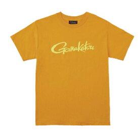 がまかつ(Gamakatsu) Tシャツ(筆記体ロゴ) GM-3576 L オレンジ 53576-63-0