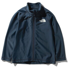 THE NORTH FACE(ザ・ノースフェイス) L/S SUNSHADE FULL ZIP JACKET 130 UN(アーバンネイビー) NTJ12042