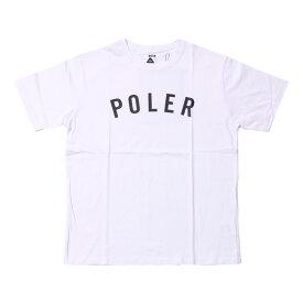 POLeR(ポーラー) STATE TEE L WHITE 21200010-WHT