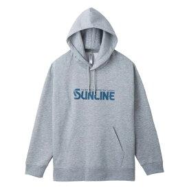 サンライン(SUNLINE) プルオーバーパーカー L グレー SUW-1808PK