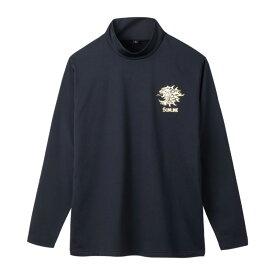 サンライン(SUNLINE) ボアストレッチハイネックシャツ M ブラック SUW-5576HT