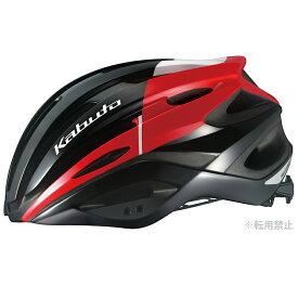 オージーケー カブト(OGK KABUTO) ヘルメット REZZA-2 M/L G-2ブラックレッド