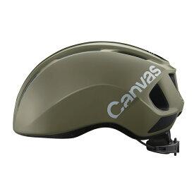 オージーケー カブト(OGK KABUTO) Canvas Sports キャンバス スポーツ ヘルメット M/L オリーブ