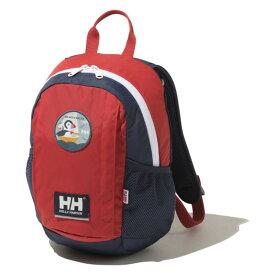 HELLY HANSEN(ヘリーハンセン) 【21秋冬】Kid's KEILHAUS PACK 8(キッズ カイルハウス パック 8) 8L レッド(R) HYJ92151