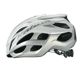 オージーケー カブト(OGK KABUTO) VOLZZA ヴォルツァ ヘルメット L/XL ホワイトシルバー VOLZZA