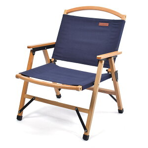 PEACE PARK(ピースパーク) LOW WOOD CHAIR ロー ウッド チェア フリー NAVY 36660445