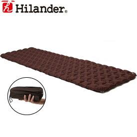 Hilander(ハイランダー) コンパクトエアーマット 5.0cm ブラウン UK-13