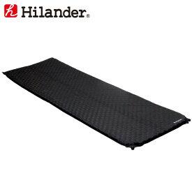 【最大500円クーポン配布中】 Hilander(ハイランダー) インフレーターマット(枕なしタイプ)3.5cm ブラック HCA0265