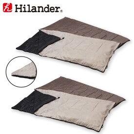 Hilander(ハイランダー) 2in1 洗える3シーズンシュラフ(5℃&15℃対応)【お買い得2点セット】 UK-7