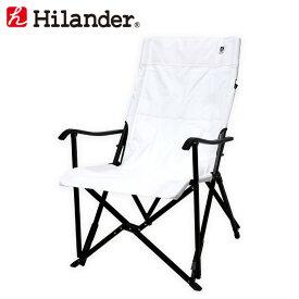 Hilander(ハイランダー) スリムエックスチェア ブラック×ホワイト HTF-SXCBWH