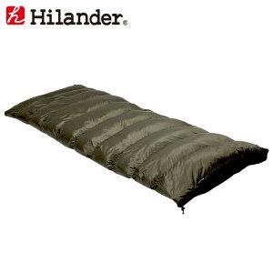 Hilander(ハイランダー) ダウンシュラフ 400 封筒型 カーキ HCA0302