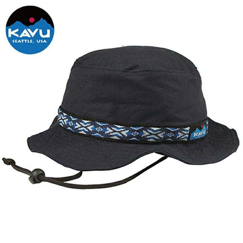 KAVU(カブー) Strap Bucket Hat(ストラップ バケット ハット) L Navy 11863452096007