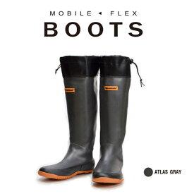 メガバス(Megabass) MOBILE FLEX BOOTS モバイル フレックス ブーツ 27cm アトラスグレイ