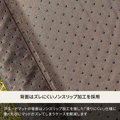 Hilander(ハイランダー)スエードインフレーターマット(枕付きタイプ)5.0cmダブルブラウンUK-3
