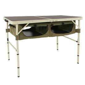 DOD(ディーオーディー) グッドラックテーブル GOOD RACK TABLE カーキ/ベーシュ TB4-501