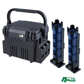 メイホウ(MEIHO) 明邦 ★VS-7080+ロッドスタンド BM-300 Light 2本組セット★ Cブルー×ブラック