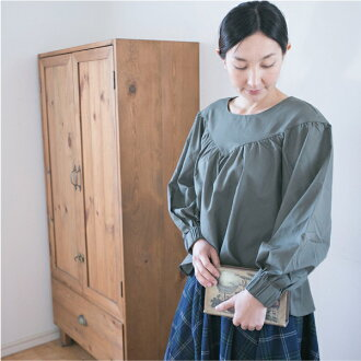■It is tops CS0519 in fall and winter in the fall and winter when plain basic natural clothes are lovely mature softly after ■ Lady's long sleeves tops cut-and-sew shipment 11/06 for 40 generations in 30s at - 11/12 9:59 at 11/2 14:00
