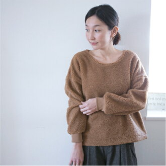 ■It is tops CS0527 in fall and winter in adult natural basic plain fabric Shin pull white sense of the seasons fall and winter softly like swelling at 11/14 16:00 at - 11/16 9:59 after ■ long sleeves Lady's tops cut-and-sew shipment 11/16 in 30s in 40s