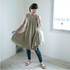 ■It is dress NP0476 in spring in ■ dress circular dress short-sleeved lady's dress V neck Shin pull cotton plain casual natural dress spring in 30s in 40s at - 4/22 9:59 at 4/19 10:00