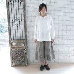(ナチュラル服)オールシーズン着こなし自在ガウチョパンツ/【メール便可】(PNT025)(レディースファッションナチュラルテイストパンツボトムスガウチョパンツ女性30代40代ナチュラルファッション大人かわいい服))