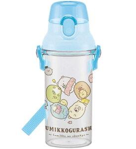 食洗機対応プラクリアボトル/すみっコおべんきょう/スケーター/PSB5TR / 水筒/480ml/すみっコぐらし/子供用 水筒 クリアボトル 480ml すみっコぐらし おべんきょう 日本製
