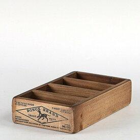 WOODEN BOX FOR BUSINESS CARDS NAT/CH14-H503NT ウッデン ボックス フォー ビジネスカード ナチュラル 木製ボックス アンティーク 名刺整理 収納 DULTON(ダルトン)