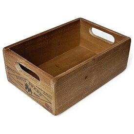 WOODEN STOCKER BOX NATURAL/CH14-H500NT ウッデン ストッカー ボックス ナチュラル 木製ボックス アンティーク 整理 収納 DULTON(ダルトン)