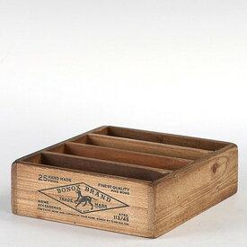 WOODEN BOX FOR POSTCARDS NATURAL/CH14-H502NT ウッデン ボックス フォー ポストカード ナチュラル 木製ボックス アンティーク ハガキ ポストカード 整理 収納 DULTON(ダルトン)
