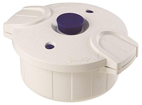 電子レンジ圧力鍋 極み味 ホワイト MWP1 23955 4973307239557 スケーター