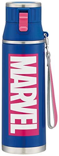 超軽量ダイレクトボトル/MARVELロゴNV/スケーター/SDMC12 / 水筒/直径9.1×高さ30.6cm/マーベル/マーブル