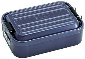 アルミふわっとランチBOX/ダークブルー/スケーター/AFT10B / お弁当箱/1000ml/ふわっと盛れる アルミ製 弁当箱 大容量 1000ml ダークブルー