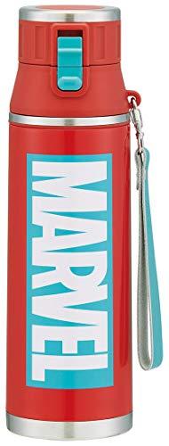 超軽量ダイレクトボトル/MARVELロゴRD/スケーター/SDMC12 / 水筒/直径9.1×高さ30.6cm/マーベル/マーブル