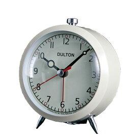 ALARM CLOCK IVORY/100-053Q/IV アラーム クロック 足付き ベルの音 時計 DULTON(ダルトン)