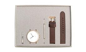 INSTRMNT(インストゥルメント) 01-B RG/B 102【 ピンクゴールド x ブラウン 】腕時計 時計 ウォッチ