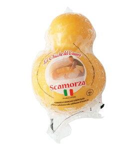 レ・キッケ・デル・カザーロ スカモルツァ・アフミカータ【冷凍スカモルツァ(燻製)チーズ】【300g】【冷凍】 Le Chicche del asaro Scamorza Affumicata