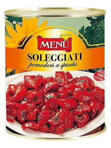 メニュー セミドライトマト オイル漬け  MENU Soleggianti Pomodori a spicchi