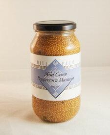 ヒルファーム タスマニア マイルド・グリーン・ペッパーコーン・マスタード  HILLFARM Mild Green Peppercorn Mustard