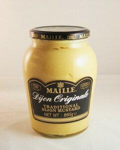 マイユ ディジョンマスタード(辛口)  MAILLE Dijon Original TRADITINAL DIJON MUSTARD 865g