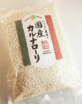 たけもと農場 国産カルナローリ イタリア米  ITALIAN RICE from JAPAN produced by TAKEMOTO NOJO