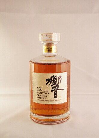 サントリーウイスキー 響17年(箱なし)  SUNTORY WHISKY HIBIKI 17 Years Old A harmonious blend