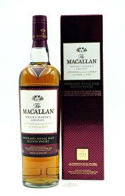 ザ・マッカラン ウイスキー・メーカーズ・エディション  42.8度 【並行輸入品:専用箱有】 The Macallan Whisky Maker's Edition 42.8% HIGHLAND SINGLE MALT SCOTCH WHISKY
