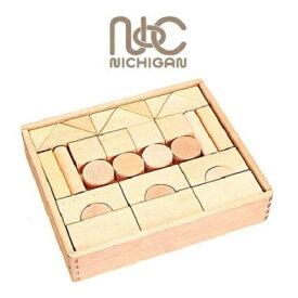 ニチガン 無塗装つみき U1 【国内正規品】つみき 知育 木製 ブロック