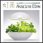LED水耕栽培キット土を使わずに簡単に栽培できます!Akarina01RN灯菜アカリーナOMA01RN0J