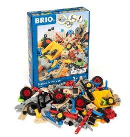 ブリオ BRIO 木のおもちゃ ビルダーアクティビティセット 34588