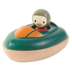 プラントイ PLANTOYS スピードボート 5667 木のおもちゃ 知育玩具